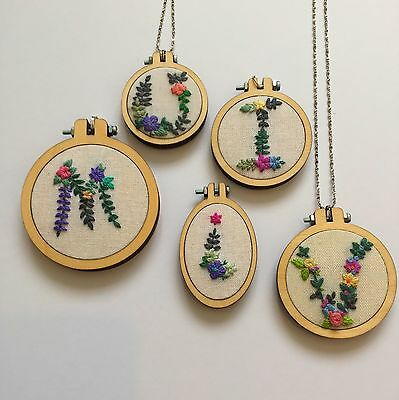 Mini Embroidery Hoops 5 sizes available. Back pieces included