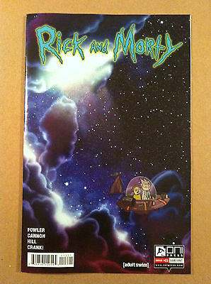Rick & Morty #13 K C Green Incentive Variant Cover Nm First Printing Oni 2016
