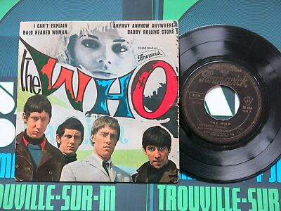 THE WHO I Can't Explain ORIGINAL FRENCH EP