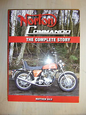 Norton Commando The Complete Story HISTORY EVO SPECS BOOK GUIDE By MATTHEW VALE