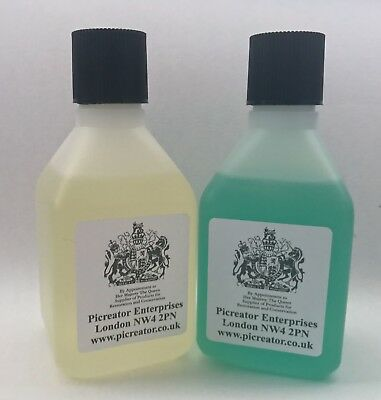 RENAISSANCE METAL DE-CORRODER and VULPEX LIQUID SOAP TWIN PACK 100ml Bottles