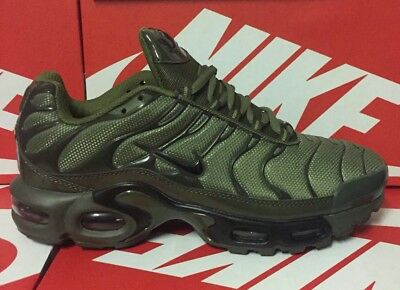Nike Air Max Tuned TN Olive Green Unisex Trainer Limited Edition sizes  6-7-8-9