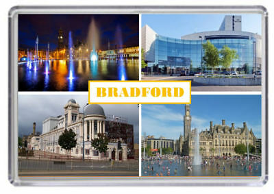 Bradford Yorkshire Fridge Magnet 01