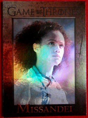 GAME OF THRONES - MISSANDEI - Season 4 - FOIL PARALLEL Card #73