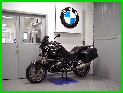 BMW R  2013 BMW R 1200 R 90 Years Black Saddle Bags Windshield Hand Guards 90th Anniver