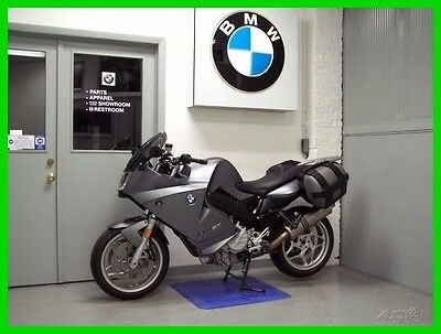 BMW F  2007 BMW F 800 ST Akrapovic Exhaust Saddle Bags Tinted Shield Heated Grips ABS
