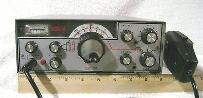 ALDA 103 Ham Transceiver - 80-40-20 Meters - With Mic, Manuals, and Power Cord