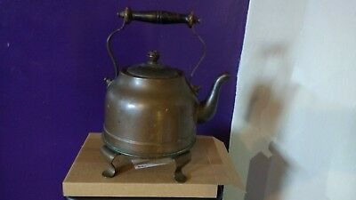 Antique Early Electric Magnet Branded Copper/Brass Kettle