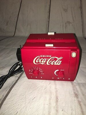 Coca -Cola Mini Chest Freezer Radio