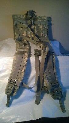 Molle II Rucksack Enhanced Shoulder Straps ACU Quick Release