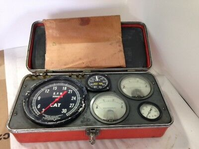 Vintage CAT Caterpillar 4S6553 Diesel Engine Evaluation Test Analyzer
