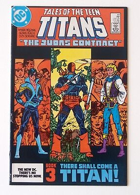 Tales of Teen Titans #42, #43, #44 Lot Dick Grayson 1st Nightwing Deathstroke NM