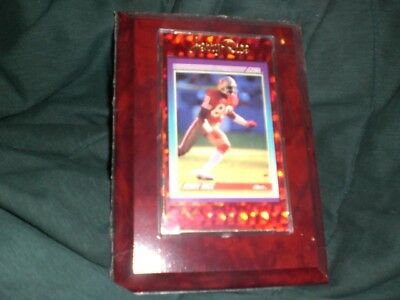 Jerry Rice Sealed Plaque