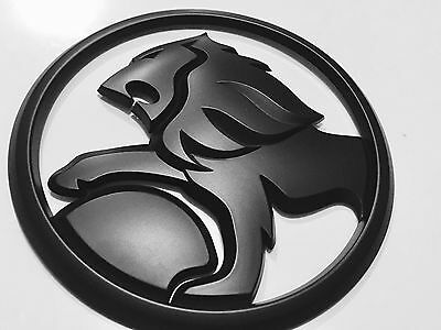 Holden Lion Badge matte black lion badge 95 mm high quality  for Commodore