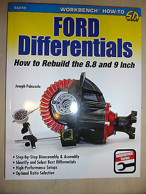Ford Differentials How to Rebuild the 8.8 & 9 Inch BOOK MANUAL GUIDE 1957-1986