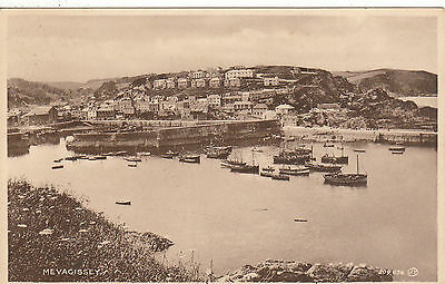 General View & Harbour, MEVAGISSEY, Cornwall