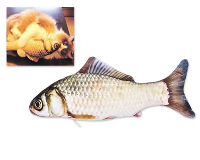 DSstyles Catnip Fish Cat Toy Interactive Cat toy Pet Chew Toys Pet Pillow for Ca