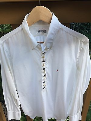 Jerry Lewis Owned Worn Tuxedo Shirt March 1968 Silk Nat Wise Vintage