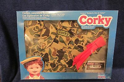 Corky's Adventure Scouts Cassette Tape and Outfit for Playmates Corky Doll - New