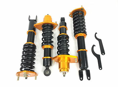 New 2004-2011 Mazda RX8 RX-8 GS/GT/Sport Coupe 4D Gold Suspension Coilover