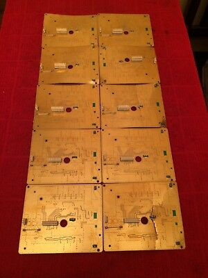 10 Rare Gold Boards Scrap CPU Processor Recovery Healthy Looking Stuff