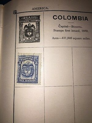 Old Stamp Colombia Used