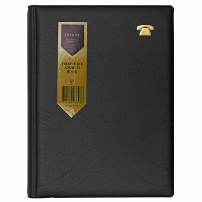 Debden Spiral Bound Address Book Black