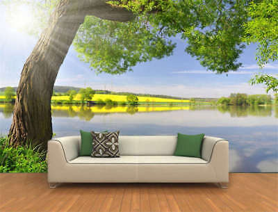 Bright Nature Tree Full Wall Mural Photo Wallpaper Printing 3D Decor Kids Home