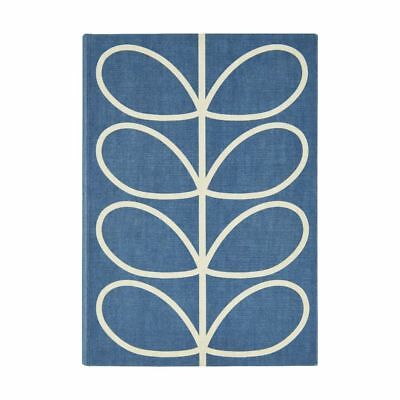 Orla Kiely A5 Address Book Blue
