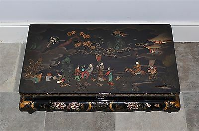 Large Old or Antique Japanese Lacquer Low Table