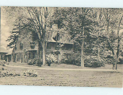 Unused Divided-Back COLONIAL INN Concord Massachusetts MA L1725