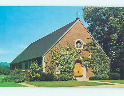Unused Pre-1980 CHURCH SCENE Conway New Hampshire NH L3723