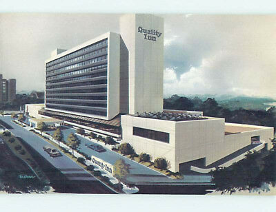 Unused Pre-1980 QUALITY INN Knoxville Tennessee TN L0602-12