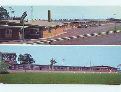 Unused Pre-1980 OLD CARS & VALLEY MOTEL Oshkosh Wisconsin WI M0308