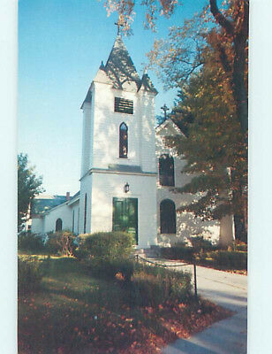 Unused Pre-1980 CHURCH SCENE North Conway New Hampshire NH L4371-13