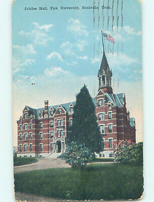 Damaged D-back JUBILEE HALL AT FISK UNIVERSITY Nashville Tennessee TN L8397