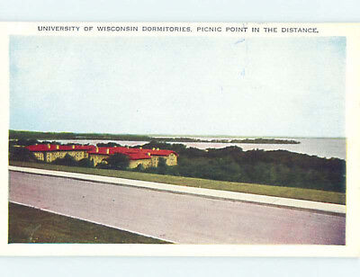 Unused W-Border DORMS AT UNIVERSITY OF WISCONSIN Madison Wisconsin WI L7447