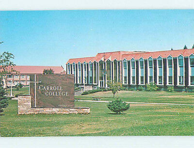 Unused Pre-1980 O'CONNELL HALL AT CAROLL COLLEGE Helena Montana MT L8434
