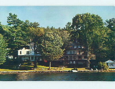 Unused Pre-1980 YVERDUN INN Sunapee New Hampshire NH L0548-12