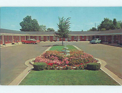 Unused Pre-1980 OLD CARS & VALLEY MOTEL Green Bay Wisconsin WI M0758