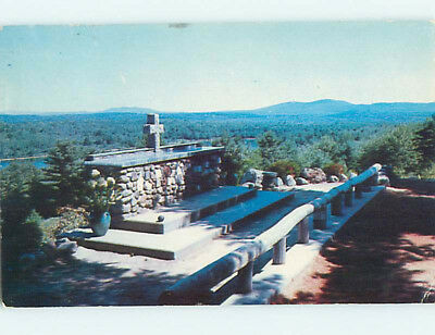 Pre-1980 CHURCH SCENE Rindge New Hampshire NH L5464