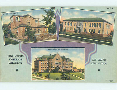Linen BUILDINGS AT HIGHLANDS NEW MEXICO UNIVERSITY Las Vegas New Mexico NM L7923