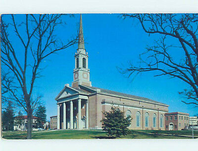 Unused Pre-1980 CHURCH SCENE Memphis Tennessee TN L3936