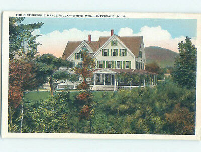 W-Border MAPLE VILLA INN AT WHITE MOUNTAINS Intervale New Hampshire NH L1877