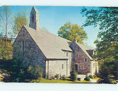 Unused Pre-1980 CHURCH SCENE Gatlinburg Tennessee TN L3516