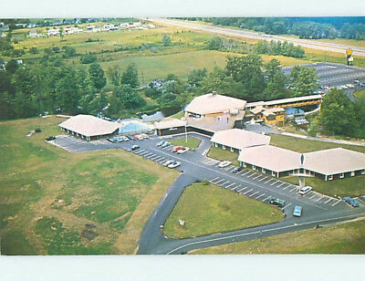 Unused Pre-1980 WAYFARER MOTEL Manchester New Hampshire NH M3282