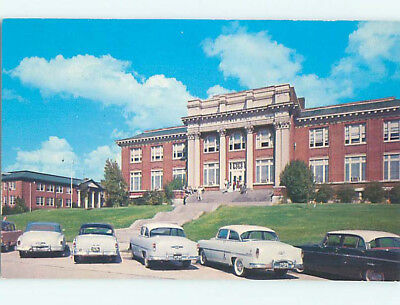 Pre-1980 MANY OLD CARS AT MILLSAPS COLLEGE Jackson Mississippi MS L8935-19