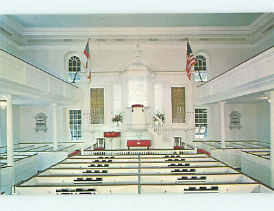 Unused Pre-1980 CHURCH SCENE Alexandria Virginia VA L3135