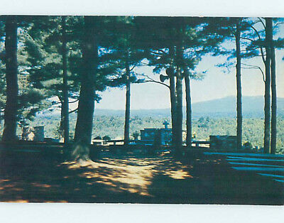 Unused Pre-1980 CHURCH SCENE Rindge New Hampshire NH L3397