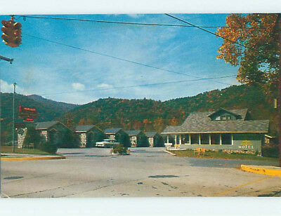 Unused Pre-1980 HEMLOCK MOTEL Gatlinburg Tennessee TN M3789